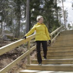 60 askelmaa valmiina – Paltanmäen elämysportailla on testattu jo ensimmäiset sykkeennostatukset