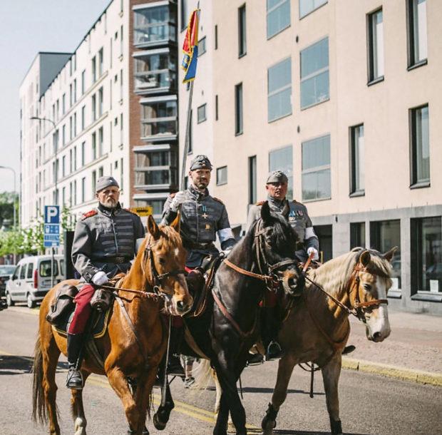 Eskadroona, Helsinki