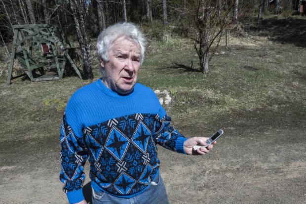 Digitukihenkilö Jouko Väisänen