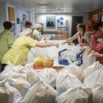 Ruokajakeluun tuli lopulta mukaan lähes 800 koululaista