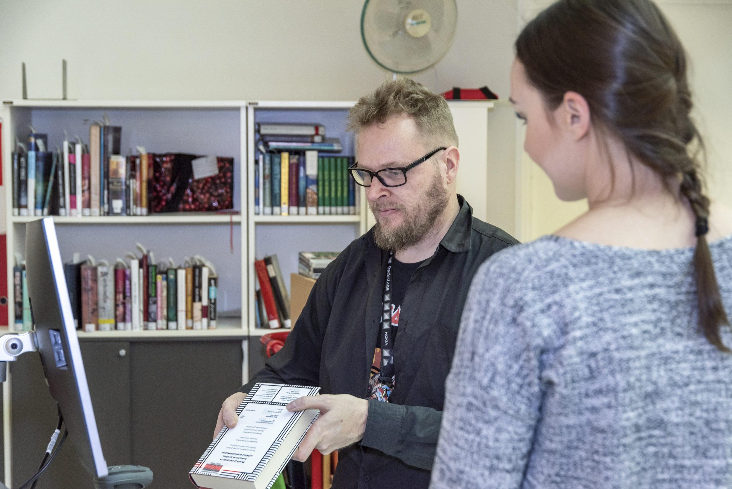 Kirjasto, kaupungin uudet nettisivut