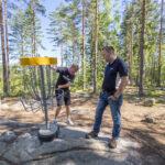 Täysimittainen kisarata houkuttelee frisbeegolfaajia kauempaakin, ratasuunnittelija ja Suomen mestari Pasi Koivu vakuuttaa