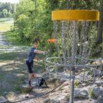 Rovastinkankaalla ei vielä pääse frisbeegolfaamaan – heittokunnossa uuden radan pitäisi kuitenkin olla elokuussa