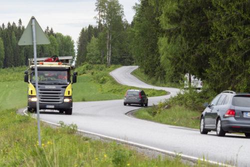 Liikenteen vaaranpaikat Orivedellä