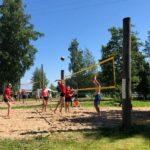Sää suosi Rönni-beachiä, mukana kahdeksan joukkuetta