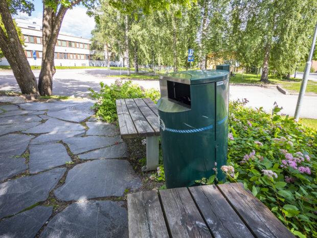 roska-astia kaupungilla