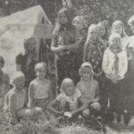 50 vuotta sitten: Torpan tytöt olivat 3-päiväisellä leirillä