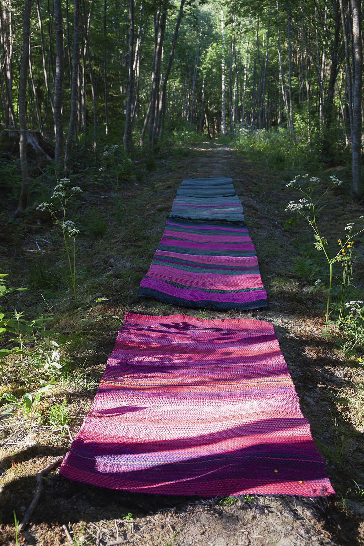 Riitta Kurkelan mattonäyttely