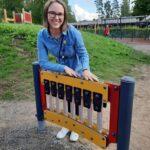 Päiväkodin johtaja Merja Yläjärvi edustaa Juupajokea LAPE-ryhmässä