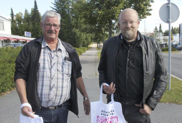 Heikki Uitti ja Keijo Tikkanen, Yrittäjänpäivä