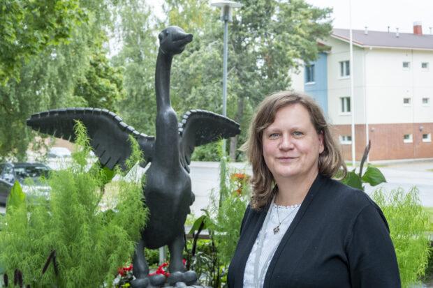 Kiinteistöpäällikkö Jaana Rajantaus