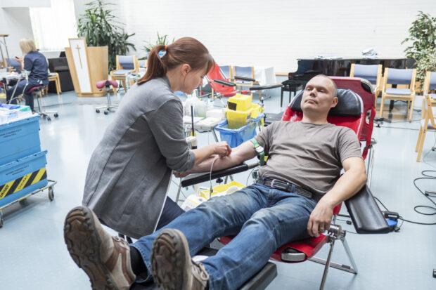 verenluovutus orivesi