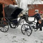 Aaltosen vaunut komistuivat Ypäjällä entistä ehommiksi – hevonen valjastetaan eteen jo lauantaina