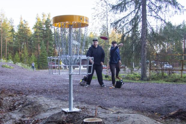 Oriveden frisbeegolfradan avajaiset