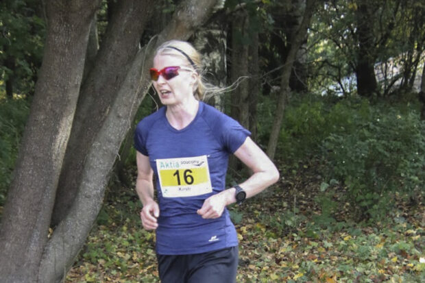 maratoonari Kirsti Laurila