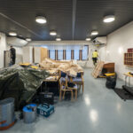 Seurakuntakeskuksen isojen salien ilmastointiremontti on meneillään – koko talon ilmastointi uusitaan kevään aikana