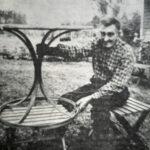 50 vuotta sitten: Monitaitoinen seppä Jussi Ahonen
