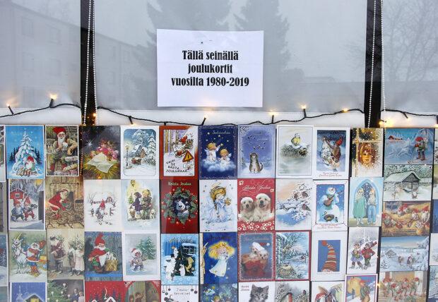 Joulukorttinäyttely
