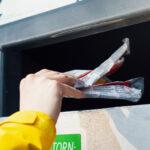 Oriveden Rinki-pisteellä kerätään nyt myös muovia – säiliö on tarkoitettu kotitalouksien puhtaalle muovijätteelle