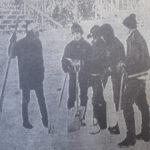 """50 vuotta sitten: Jääkiekkolaitojen rakentamisen """"maailmanennätys"""""""