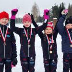OrPon hiihtäjät ovat päässeet nauttimaan kisahuumasta – laduilta on tullut myös menestystä ja mitalisadetta