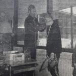 """50 vuotta sitten: Väinö Huhtalalle """"Huppion Lumikide"""" – tasaväkisiä sarjoja Paltanmäen Hiihdoissa"""