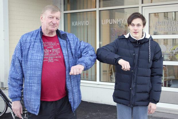 Ilpo Mikkonen ja Teemu Laurikainen