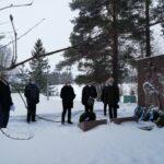 Talvisodan päättymispäivää muistettiin Längelmäellä