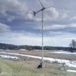 Kotitalous hyötyy pienestä tuulivoimalasta