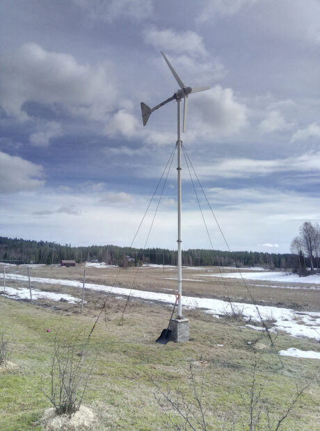 Tuulivoimala, lukijan kuva