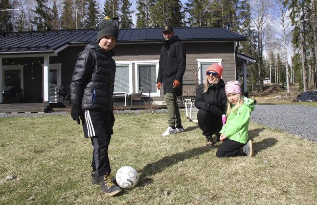 Satu Mäntylä, Antti Heikkilä, perhe