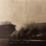 50 vuotta sitten: Suurpalon uhka Hiedan sahan alueella – Hake- ja kutterilastusiilo tuhoutui