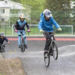 Tamperelainen bmx racing -kisatiimi sai pumptrack-radasta treenipaikan