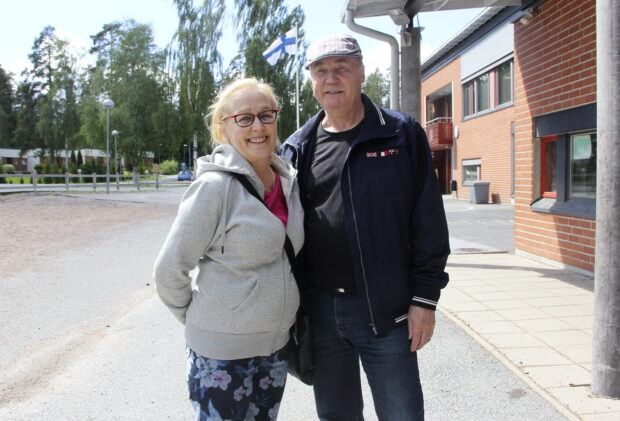 Pirjo ja Esko Saarikko