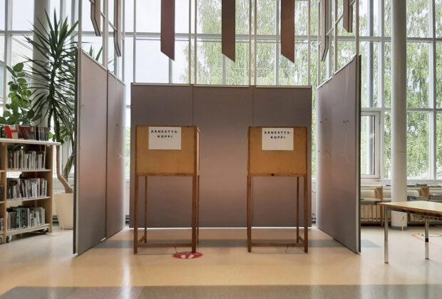 Äänestyspaikka, Orivesi