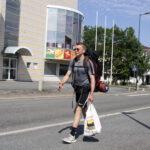 Aleksi Kareinen kävelee 1000 kilometrin matkan Suomen päästä päähän – nuori kulki tiistaina Oriveden läpi