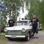Unkarissa Trabant saatettiin tilata vastasyntyneelle lapselle – itäajoneuvojen kokoontumisessa yhdistyvät historia ja rento ajanvietto