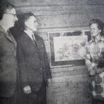 50 vuotta sitten: Kukkamaalauksia, riihentuoksua – Aune Koppasen töiden riihinäyttely avasi Oriveden Kesän taidenäyttelysarjan