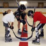 Maailmanmestaritkin luistelevat Oriveden jäähallilla – hallin ilmaisilla vuoroilla pääsee rullaluistelemaan ja pelaamaan rullakiekkoa