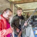 Jari Janhunen paukutteli Pennsylvania-piilukkokiväärissä SE-lukemat