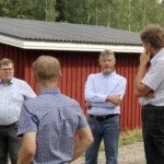MTK:n johtokuntaa vieraili Längelmäellä – erityinen huoli on maanviljelyn nuorista jatkajista