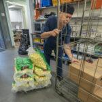 Ateriapalvelu hankkii ruoka-aineet keskitetysti, suurin osa on oman maakunnan lähiruokaa