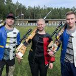Sami ja Tomi-Pekka Heikkilä toivat Orivedelle neljä henkilökohtaista SM-mitalia
